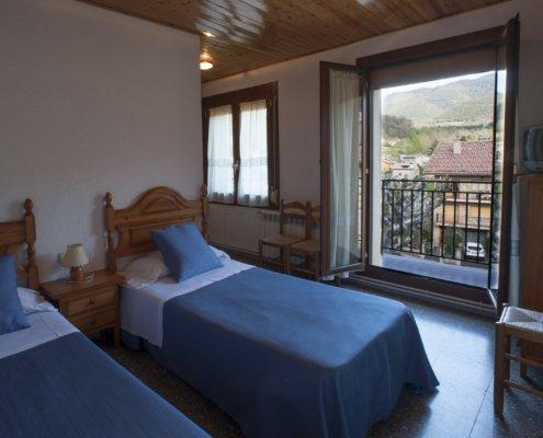 Habitació amb llits individuals