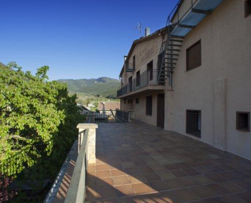 Terrassa amb vistes