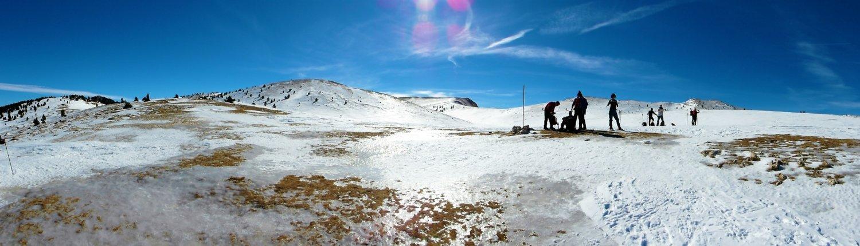 Serra d'Ensija hivernal